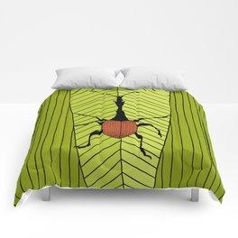 giraffe weevil Comforters
