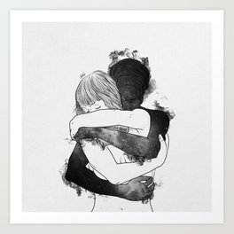 I would keep you forever. Art Print