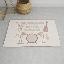 Musician in the Making Rug