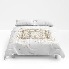 Vintage Tin Sketch Comforters