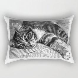 Resting Kitty G064 Rectangular Pillow