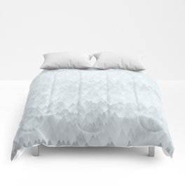 Winter firs Comforters