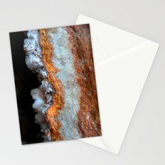 Travertine mineral Stationery Cards