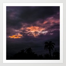 Before a Tropical Storm Art Print