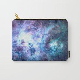 Tarantula Nebula Blue Lavender Gold Carry-All Pouch