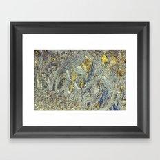 frost flare Framed Art Print