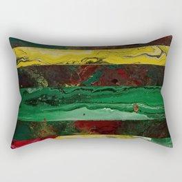 Fractal Rasta Rectangular Pillow