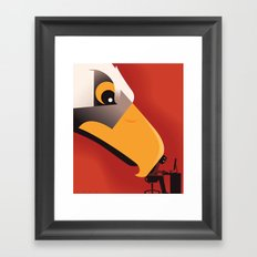 Surveillance State Framed Art Print