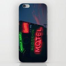 no tell iPhone & iPod Skin