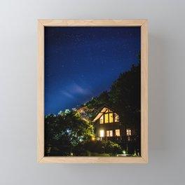 Night Light Framed Mini Art Print