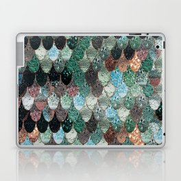 SUMMER MERMAID SEAWEED MIX by Monika Strigel Laptop & iPad Skin
