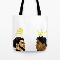 2 Kings. Kendrick Cole Tote Bag