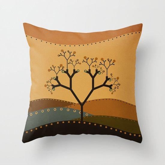 Textures/Abstract 142 Throw Pillow
