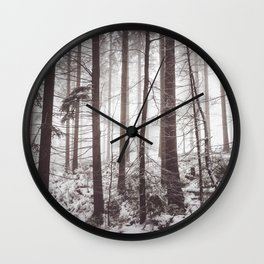 Nemophily - Landscape and Nature Photography Wall Clock