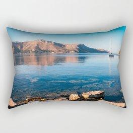 Silent Waters - Kalymnos Rectangular Pillow