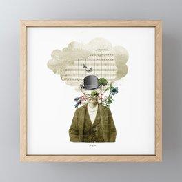 Music Cloud Framed Mini Art Print