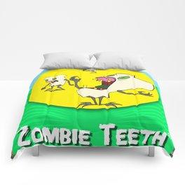 Zombie Teeth Comforters