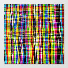 Madras Canvas Print