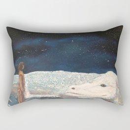 NeverEnding Story - Falkor Luckdragon - FAN ART Rectangular Pillow