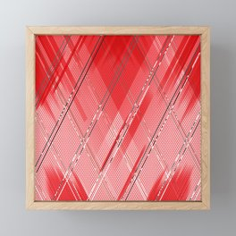 Experimental pattern 10 Framed Mini Art Print