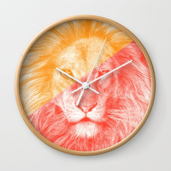 Wild 3 by Eric Fan & Garima Dhawan Wall Clock