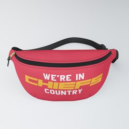 We're in Chiefs Country Fanny Pack