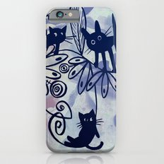 happy kittens Slim Case iPhone 6s