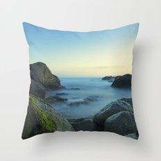 Milky Ocean II Throw Pillow