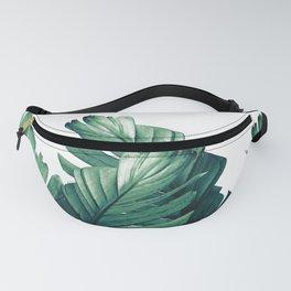 Green Banana Leaves Dream #1 #tropical #decor #art #society6 Fanny Pack