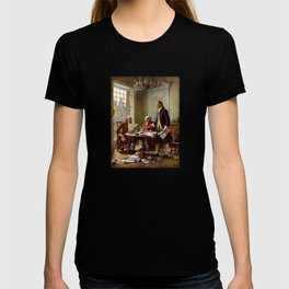 Writing The Declaration of Independence T-shirt