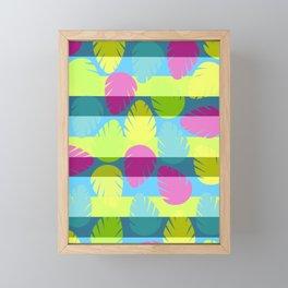Tropical stripes II Framed Mini Art Print
