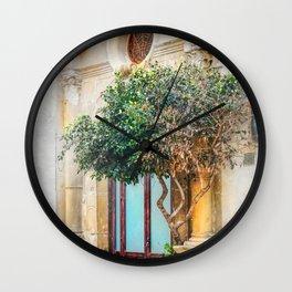 Trapani art 4 Wall Clock