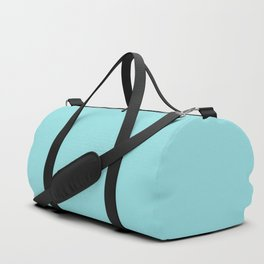 Island Paradise | Pantone Fashion Color Spring : Summer 2017 | Solid Color Duffle Bag