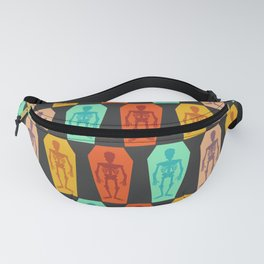 Colorful skeletons Fanny Pack