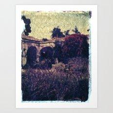 Mission in Lavender Art Print