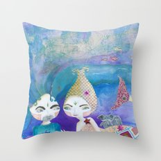 Two-getherness Throw Pillow