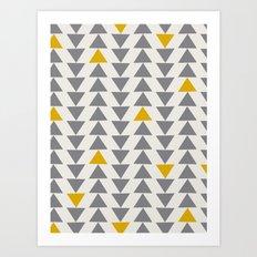 Straight and Narrow Art Print