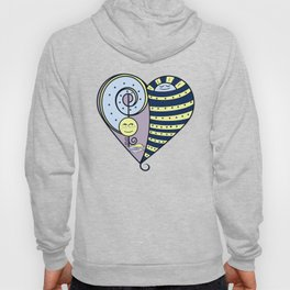 Freckled Moon Resting Sun Heart Hoody