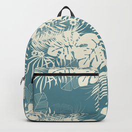 Tropical pattern 047 Backpack