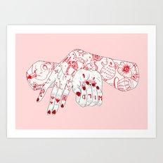 Wild and Calm Art Print