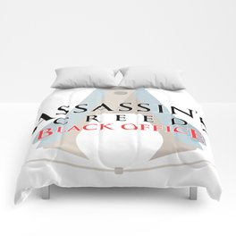Assassin's Creed Black Office Comforters