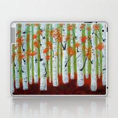 Atumn Birch trees - 5 Laptop & iPad Skin