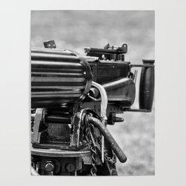 Vickers Machine Gun Poster