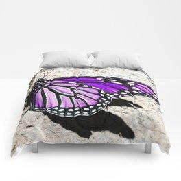 Beautiful Purple Butterfly Comforters