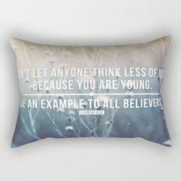 1 Timothy 4:12 Rectangular Pillow