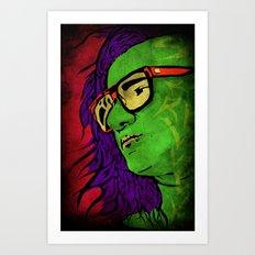 Skrillex Art Print