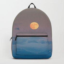 Full super moon December 2017 Backpack
