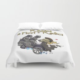 Hades & Persephone pocket version Duvet Cover