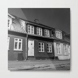 Charming houses, Aarhus Metal Print