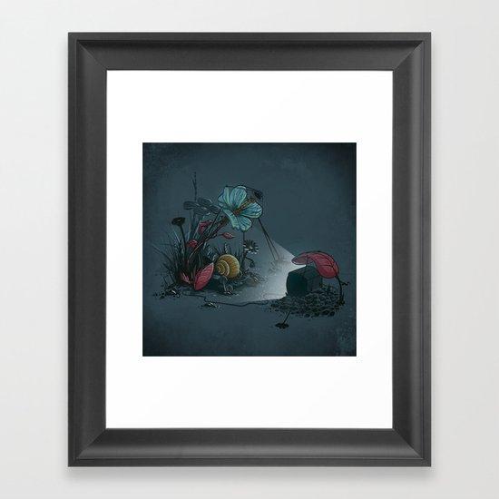 Free TV Framed Art Print